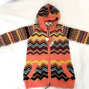 New Missoni target zigzag sweater cardigan 18M